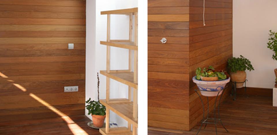 Revestimiento de friso paredes y techos camara parquets - Paredes de friso ...